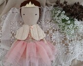 Cloth Doll - Marguerite by moose & bird