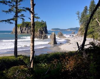 Fine Art Photo Ruby Rock, Olympic National Park, Washington