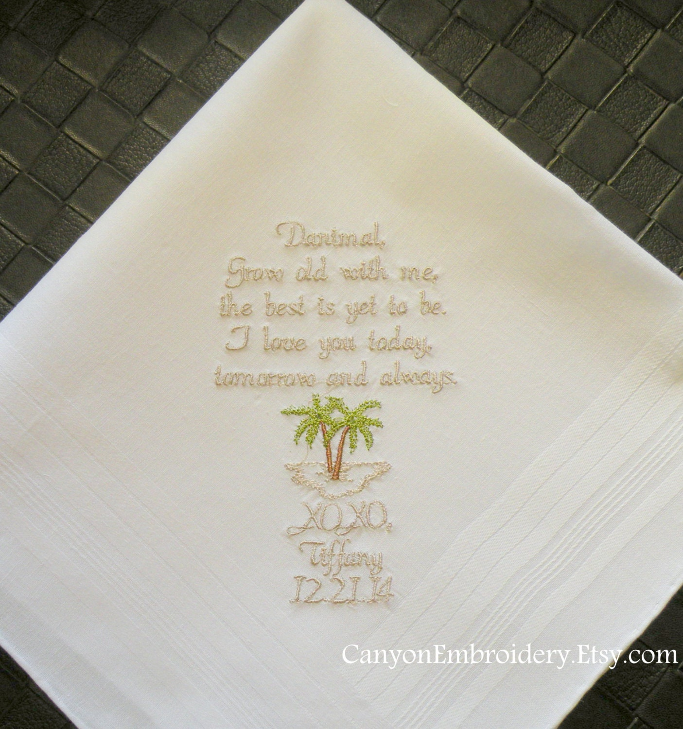 Gift For Fiance On Wedding Day: Fiance Wedding Gift Wedding Gift Fiance Embroidered Wedding