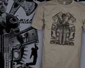 Cobra Cult Movie T-Shirt - Zombie Squad - Sylvester Stallone Movie Shirt - 80's Action Flick - FREE SHIPPING