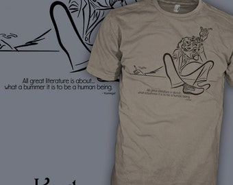 Kurt Vonnegut T Shirt - Kurt Vonnegut Shirt - Kurt Vonnegut Quotes T Shirts