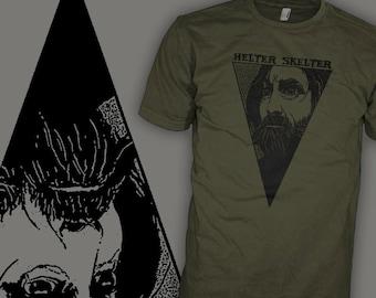 Charles Manson Shirt - Helter Skelter Shirt - Spahn Ranch - The Beatles Shirts