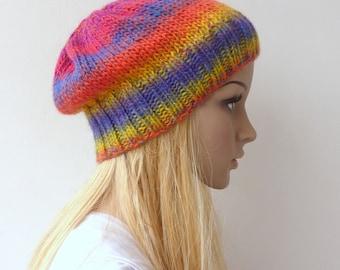 Slouchy beanie hat - slouch beanie - winter beanie