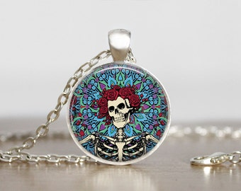 The Grateful Dead Jewelry Pendant