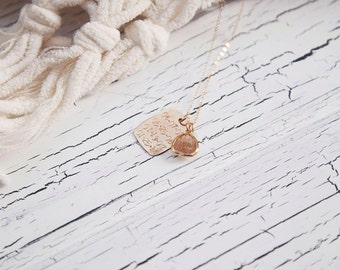 Dates to Remember Personalized Gold Necklace