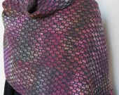 Women's Handwoven Multicolor Cotton Wool Wrap or Shawl