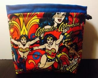 Wonder Woman Drawstring Bag