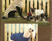 Dog Sweater Pattern Book - Knit and Crochet - Leisure Arts Leaflet 934