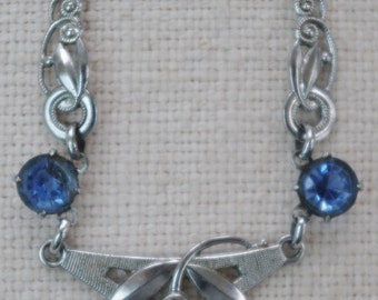Antique - FABULOUS - Genuine Art Deco Necklace - c1920s