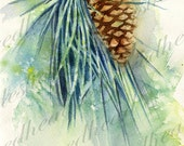 Pine Cone Digital Download for Printable Items