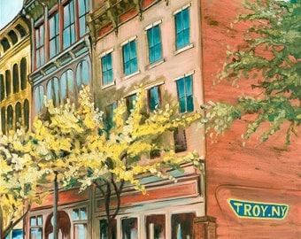 Troy, NY - Print