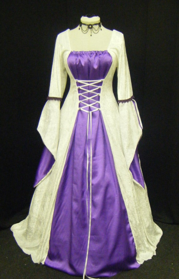 medieval handfasting dress renaissance wedding custom