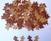 Catch Me If You Can Gingerbread Die Cut Confetti-Set of 200