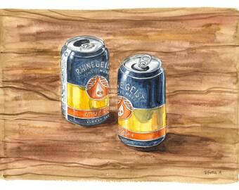 Rhinegeist Cougar Blonde Ale Beer, Cincinnati Beer, Brewery, Cincinnati Art