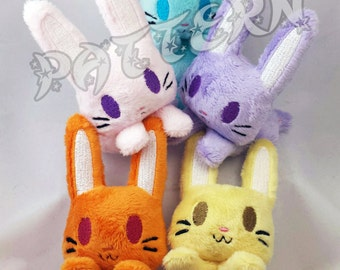 ITH PATTERN ~ In The Hoop Pattern for Bun-Bun Bunny Beanie Plush - Embroidery File Project