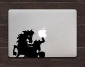 Headless Horseman Vinyl MacBook Decal BAS-0163