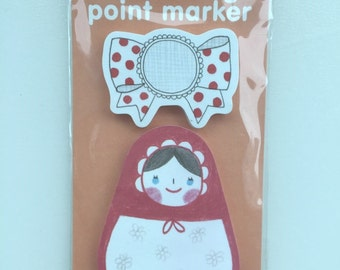 Russian Doll Post It Memo Note Pad 30 sheets SS390