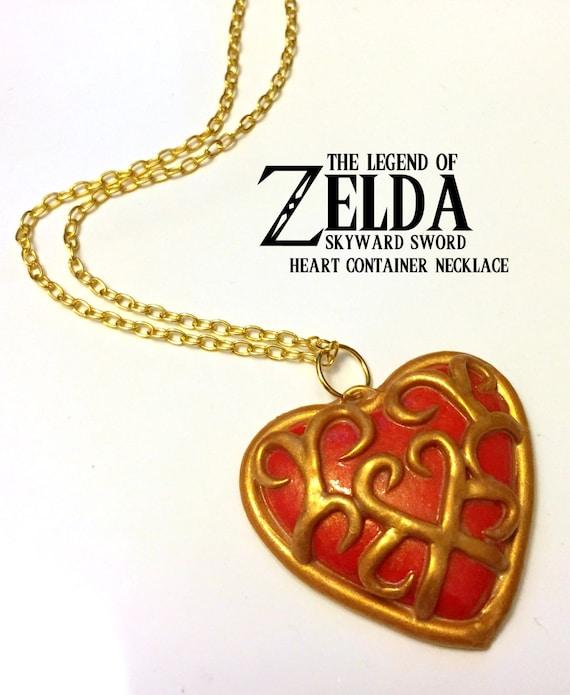 Skyward Sword Heart Container Necklace - Legend of Zelda - Nintendo