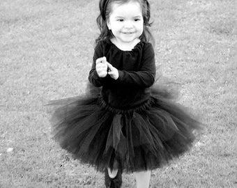 Black Cat Toddler Halloween Costume - Size Newborn to 5T