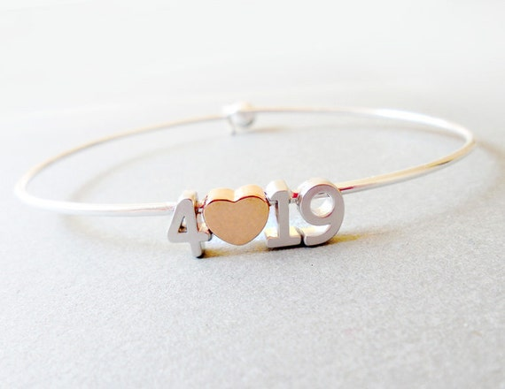 Date Bracelet,Build Your Own Number bangle Valentine's Gift-Anniversary Gift Save the Date,Custom Number bangle Personalized Bridesmaid Gift
