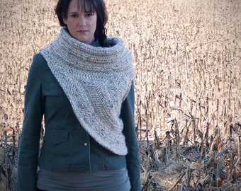 The Hunter Cowl - A Knitting Pattern