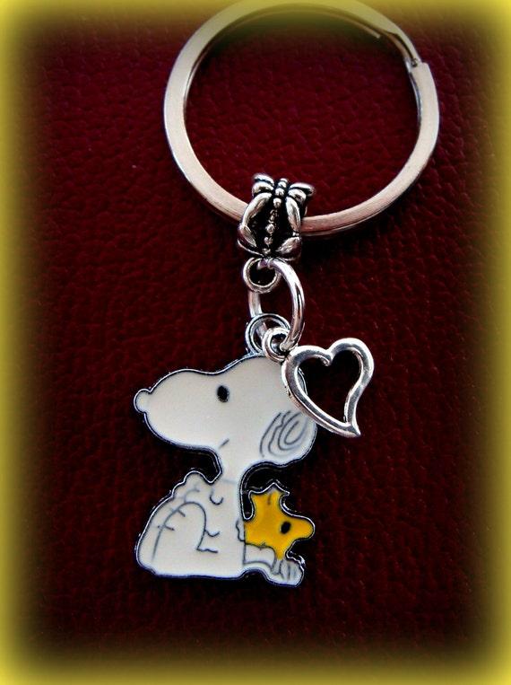 snoopy and woodstock peanut s keychain jewelry snoopy