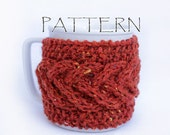 Pattern Knitted Super Braid Cup Cozy