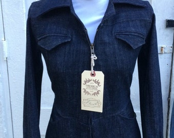 Custom Denim jumpsuit- made to measure