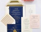 Erin Wedding Invitation Collection Suite