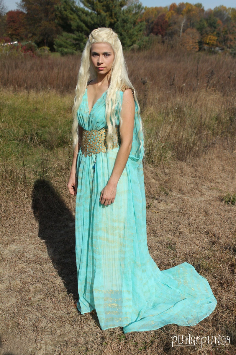 Game of Thrones Daenerys Targaryen Qarth Dress Costume