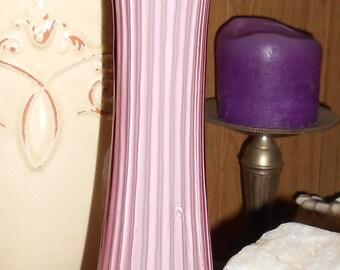 Lovely Vintage Tall Purple Vase