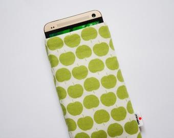 Green Apple Case iPhone 5 5s, 6 6s, 6 Plus 6s Plus, iPod Classic, HTC One M9, LG G4, Samsung Galaxy S6 Edge, Sony Xperia Z5, Nexus 6 Sleeve
