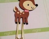Little Deer bookmark paper clip