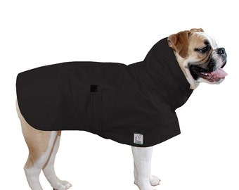 ENGLISH BULLDOG Rain Coat, Dog Raincoat, Waterproof Dog Coat,