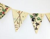 Christmas bunting, Festive Garland, Christmas decoration, Paper Bunting, Banner, Christmas wedding