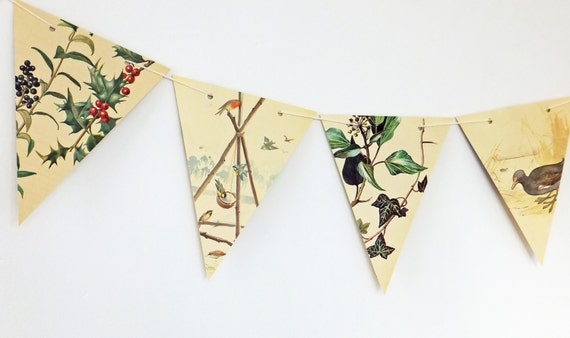 Christmas bunting festive garland christmas decoration for Arland decoration
