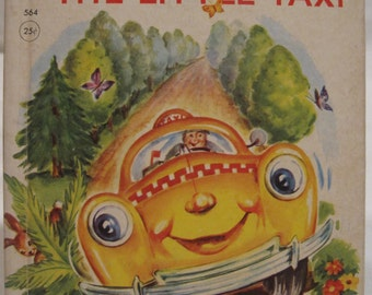 Buddy The Little Taxi, 1951;1959, Rand McNally Elf Book # 564, Written by Alf Evers; Illustrated by Eleanor Corwin