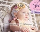 Headband  match vintage romantic for newborn-baby-baby girl-child-teen-adult