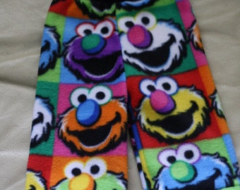 Silly Monster Fleece Longies - SMALL  (approx 7-12lbs)
