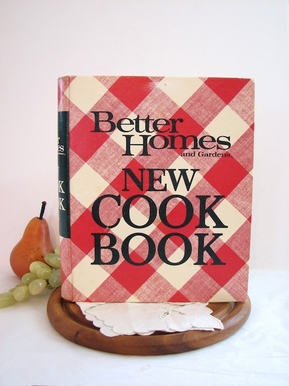 Better Homes And Gardens New Cook Book Cookbook 1968