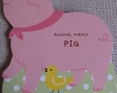 Very Cute Japanese Memo Pad/Note Pad - Pig 46