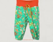 Baby girl pants Hipster Baby sweats MADE TO ORDER size newborn to 18 months