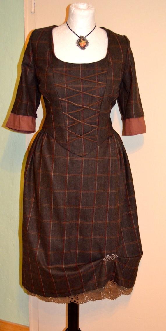 Outlander / Scottish tartan skirt and bodice
