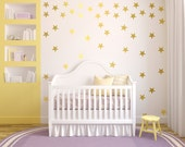Star Shaped Vinyl Decals - 24 per sheet - Star Wall Art - Star Stickers - Stars Home Decor