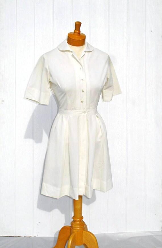 Florence Nightingale 60s Nurse Uniform White Nurse Uniform