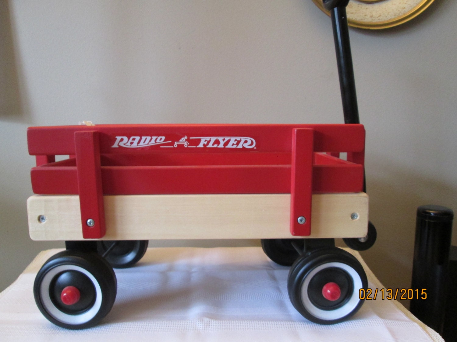 Vintage radio flyer model number 6 collectors wagon by chulapoe