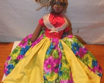 Vintage Jamaican Doll