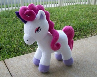 Personalize Your Own Custom Small Unicorn or Horse Plush