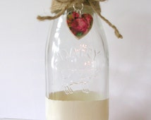 Popular Items For Milk Bottle Vase On Etsy