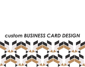 CUSTOM ad-ons: BUSINESS CARDS - pick an awesome template